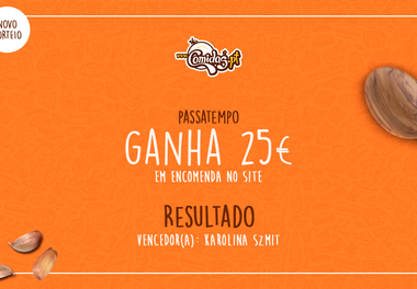 """[Novo Sorteio] Resultado - Passatempo """"Ganha 25€ em encomenda no site"""" (Comidas.pt - Faro)"""